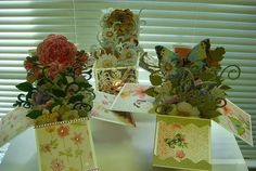 A Bouquet of Cards-in-Boxes!