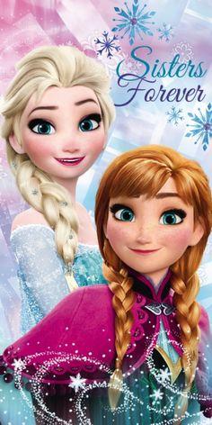 Disney Frozen strandhåndkle - 70 x 140 cm 45654 Disney Princess Pictures, Disney Princess Drawings, Disney Princess Art, Frozen Princess, Disney Pictures, Disney Art, Disney Frozen Olaf, Disney Frozen Birthday, Frozen Movie