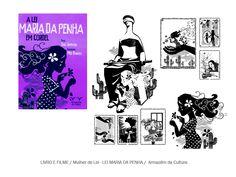 """Ilustrações em xilo para Livro """"Mulher de Lei """"- Lei Maria da Penha em cordel de Tião Simpatia pela Editora Armazém da Cultura."""