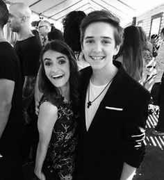 Soni Nicole Bringas & Michael Campion - Black & White Photo