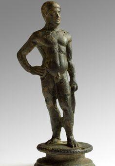 Bronze athlete, Rome, 96-192 AD