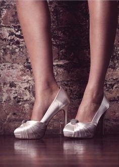 Alessia, Bridal Shoes -  Bruidsschoenen - Brautschuhe