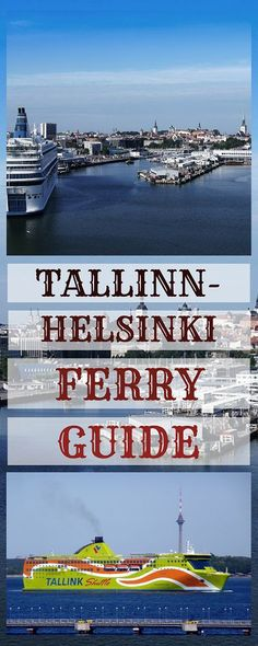 Tallinn(Estonia) - Helsinki(Finland) ferry - the easiest way to get from one capital to the other. Find out how to book, how much are the tickets and much Road Trip Europe, Europe Travel Tips, Travel Guides, Travel Destinations, Holiday Destinations, European Destination, European Vacation, European Travel, Helsinki