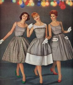 50s Housewife Dresses by aurelia
