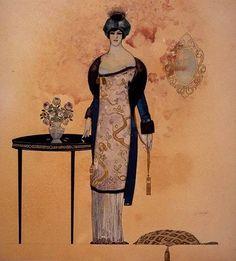 Xavier Gosé, «Figura» (c. 1912) | Exposada a «Xavier Gosé, 1876-1915. Il·lustrador de la modernitat».