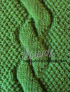 As you can see here, a braid can also be made without braids. Because of the … – socken stricken Poncho Knitting Patterns, Cable Knitting, Knitting Socks, Knitting Stitches, Hand Knitting, Crochet Patterns, Cable Needle, Dou Dou, Ribbon Yarn