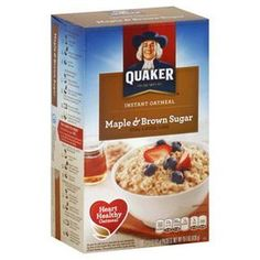 Have a ton of packets of leftover instant oatmeal that you are worried about going bad? Need a quick breakfast that will keep you full till lunch? The Oatmeal, Brown Sugar Oatmeal, Oatmeal Muffins, Instant Oatmeal Cookies, Quaker Instant Oatmeal, Instant Oatmeal Granola Recipe, Instant Oatmeal Recipes, Protein Packed Breakfast, Easy Healthy Breakfast
