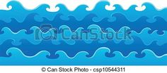 Vector - Waves theme image 5 - stock illustration, royalty free illustrations, stock clip art icon, stock clipart icons, logo, line art, EPS picture, pictures, graphic, graphics, drawing, drawings, vector image, artwork, EPS vector art