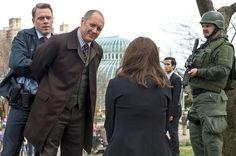 """The Blacklist -Donald Ressler ( Diego Klattenhoff ) - Raymond """"Red"""" Reddington ( James Spader ) - Elizabeth Keen ( Megan Boone ) - Liz - Lizzie"""