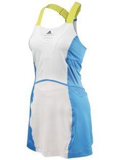 Adidas by Stella McCartney Barricade dress for Caroline Wozniacki's French Open 2013