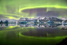 Glacial lake is green with wonder in winning photo - space - 18 September 2014 - New Scientist