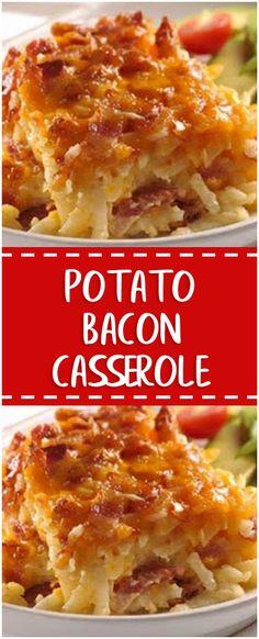 Potato Bacon Casserole – Fresh Family Recipes