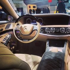 Beautiful inside and out.  #Mercedes #Benz #SClass #S600 #instacar #carsofinstagram #germancars #luxury