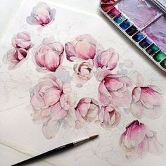 Watercolorist: @kadantsevanatalia #waterblog #акварель #aquarelle #drawing #art #artist #artwork #painting #illustration #watercolor #aquarela