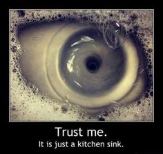 I am a kitchen sink. You don't know what that means because a kitchen sink to you is not a kitchen sink to me, ok fren?