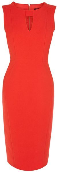 OASIS ENGLAND Sarah Pencil Dress - Lyst