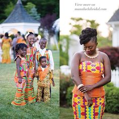 munaluchibride:  There's a gorgeous #Ghanaianwedding on the blog! All guests were instructed to wear #kente. Head to the blog (link in profile) for Claudette's love story.  by @bypetronella / featured in the #fw14 issue on stands now. #munaluchi #Munaluchbride #blackbrides