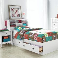 Decorating ideas on pinterest wainscoting bunk bed and for Ready to assemble bedroom furniture