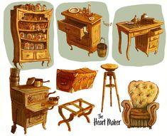 ArtStation - Furniture, Nik Henderson