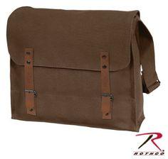 Brown Canvas Medic Bag