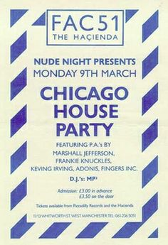 chicago house flyers - Google Search