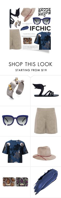 """""""Getting ready for Summer with Ifchic!"""" by cultofsharon ❤ liked on Polyvore featuring Joomi Lim, Ancient Greek Sandals, Grey Ant, Paul & Joe Sister, Eugenia Kim, Mohzy, LORAC, Summer, Spring and ifchic"""