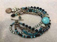 Interlace Gemstone Bracelet & Earrings - YouTube