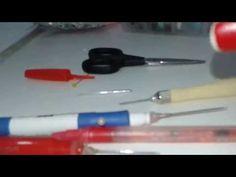 Como fazer agulhas para bordado taklin - YouTube