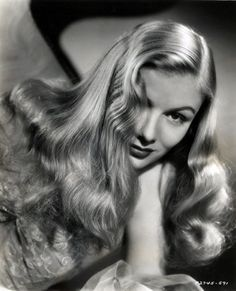 Veronica Lake. I remember the first time I saw this when I was a very little girl. G.l.a.m.o.u.r