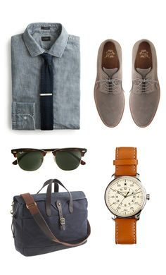 Gentleman's work essentials