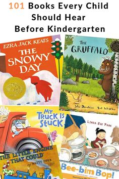 100 Books To Read Before You Are In Kindergarten is a great printable book list challenge that will inspire you to read amazing books to your babies toddlers and preschoolers before they enter kindergarten. Preschool Literacy, Preschool Books, Toddler Preschool, Book Activities, Books For Preschoolers, Best Books For Kindergarteners, 100 Books To Read, Read Aloud Books, Baby Book To Read