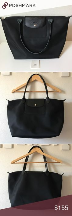 Longchamp Large Neo le pliage tote Authentic Longchamp large size. Like new, only carried a few times. Longchamp Bags Totes