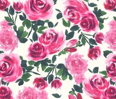 Pink Roses by lauram