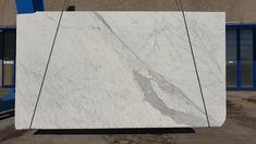 Statuario Venato white marble from Carrara, amazing slabs big size Statuario Marble, Carrara, White Marble, Tile Floor, Stone, Big, Amazing, Home Decor, Rock