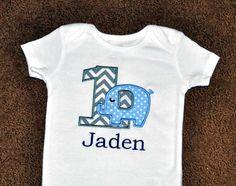 Birthday Boy Outfit Personalized First by PreciousnProsper