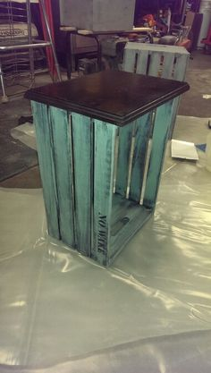 DIY Crate night stands...super easy!