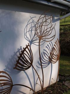 Outdoor Wall Sculpture for gardens - Поиск в Google: