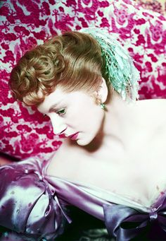 """Deborah Kerr, publicity photo for """"The King and I"""", 1956."""