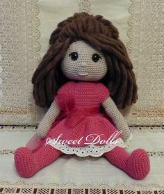 Celine #OsitosDulces #Dollcrochet #Doll #Amigurumisdolls #Crochet #Muñeca a crochet #Ganchillo #dollcrochet #Amigurumis #Amigurumipattern #Doll #Dollspatterns