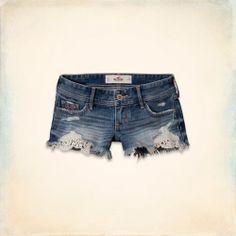Hollister Low Rise Short-Shorts $29