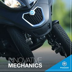 You've never seen cornering like this. #piaggio #PiaggioMP3 #scooter