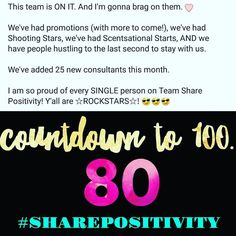 I can't just keep all the #happy news to myself!  I'm such a proud Scentsy Mama! This team puts their heart and soul and crazy #hustle in EVERY. SINGLE. MONTH.  Congratulations ladies and gents!  #sharepositivity  #SpreadingGoodVibesAndSweetScents