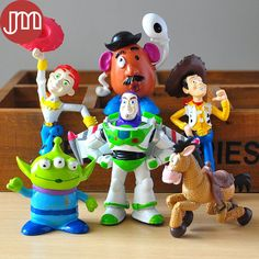 Find More Action & Toy Figures Information about New 6pcs Toy Story 3 Pixar Buzz Lightyear Woody Aliens Jessie PVC Action Figures Set Classic Toys Kids Birthday Gift Collection,High Quality Action & Toy Figures from M&J Toys Global Trading Co.,Ltd on Aliexpress.com