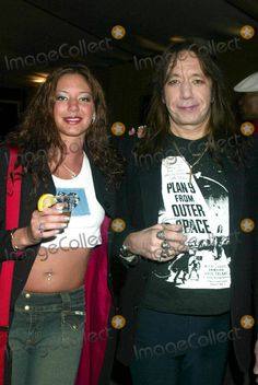 Ace Frehley with daughter Monique in 2003