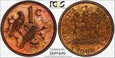 Find many great new & used options and get the best deals for 1988 South Africa 1Cent PCGS PR66RB Multi Toned Beauty POP 2 Only 1 Higher !!! at the best online prices at eBay! Free shipping for many products! Rare Coins Worth Money, Coin Worth, Gold And Silver Coins, Proof Coins, Green And Purple, Are You The One, South Africa, Free Shipping, Pop