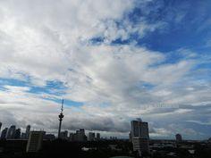 Blue sky in Jakarta
