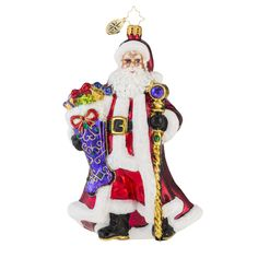 "Christopher Radko Ornament - ""Noble Nicholas"""