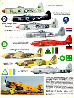 Profile N°126 - Hawker Sea Fury