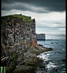 Látrabjarg by Gisli Dua, via Flickr
