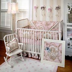 English Rose Garden Crib Bedding Set